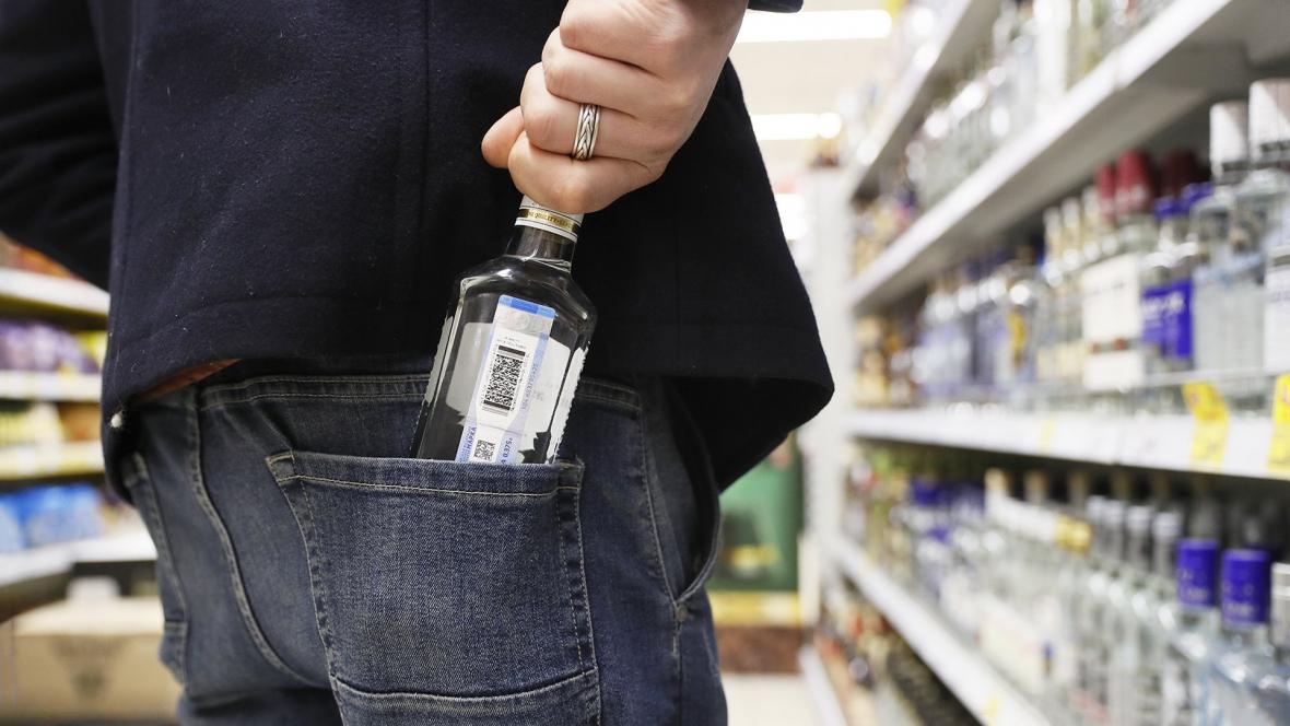 Кража в супермаркетах