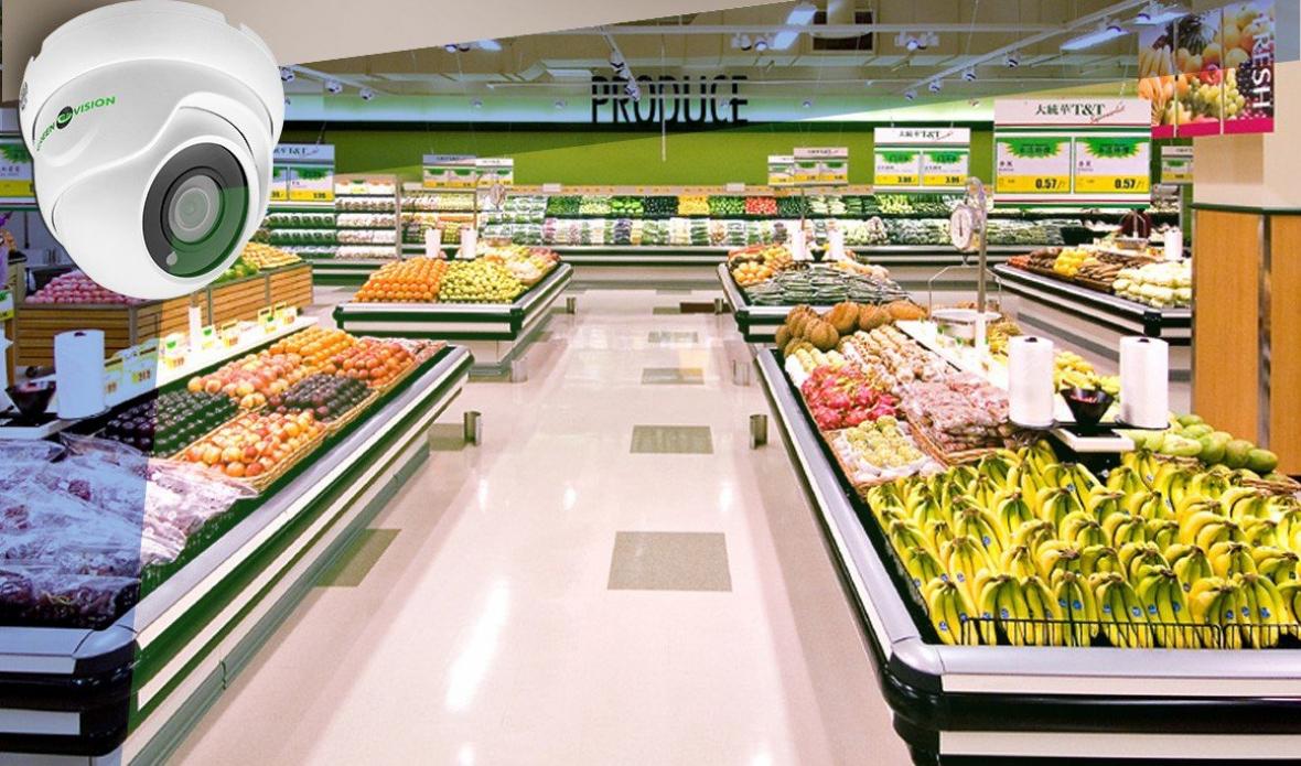 Системы видеонаблюдения в супермаркетах