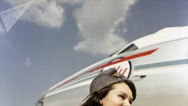 """Форма стюардессы """"Аэрофлота"""" конца 1960-х годов"""